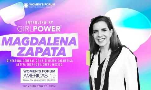 Entrevista Women's Forum Américas 2019: Magdalena Zapata