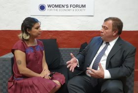 Entrevista con Javier San Juan en el Women's Forum Américas 2019