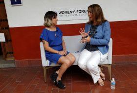Entrevista con Jennifer Salinas en el Women's Forum Americas 2019
