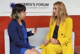 Entrevista con María Ariza en el Women's Forum Américas 2019