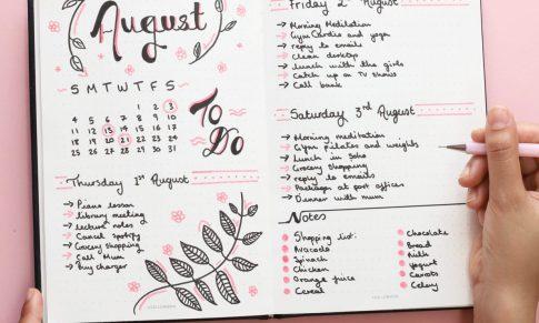 Cómo mejorar tu productividad con un Bullet Journal